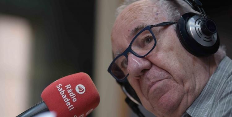 Feliu Formosa als estudis de Ràdio Sabadell   Roger Benet
