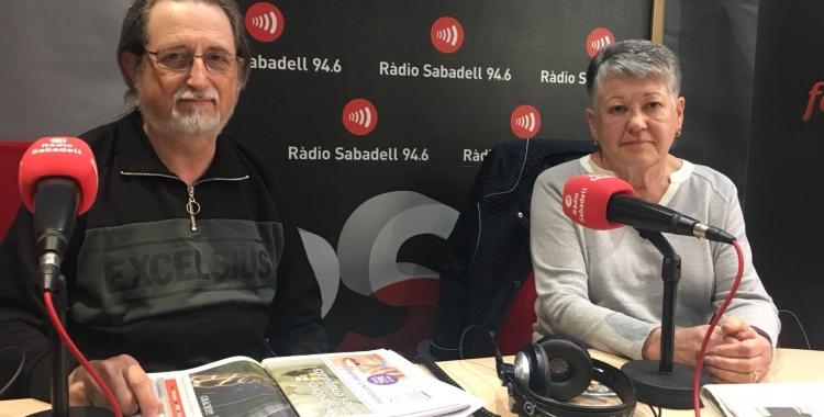 Jordi Torguet i Maria Lluïsa Benavides, de l'Associació de Veïns de la Creu Alta | Mireia Sans