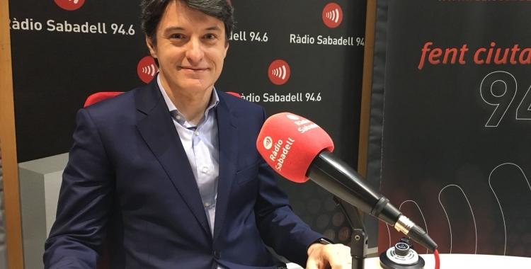 Borràs ha parlat de la situació de la Cambra a Ràdio Sabadell/ Mireia Sans