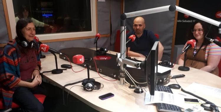 Les persones que fan possible l'Stop Persecució, a Ràdio Sabadell /Mireia Sans