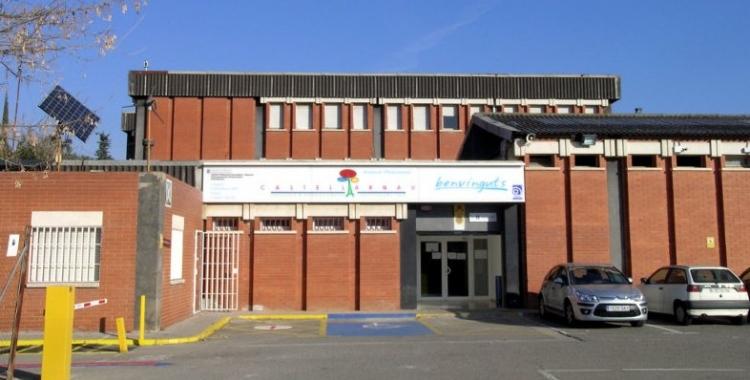 Exterior de l'Institut Castellarnau/ Cedida
