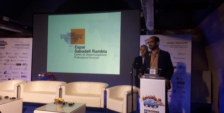 L'Espai Sabadell Rambla s'ha posat en marxa avui/ Karen Madrid