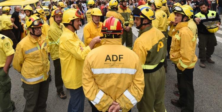 Les ADF de la comarca estan preparades per la campanya de prevenció de risc d'incendi forestal/ Roger Benet