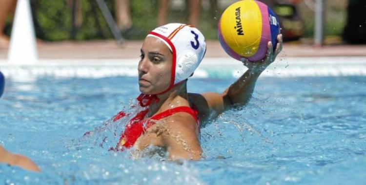 Anni Espar amb la selecció espanyola