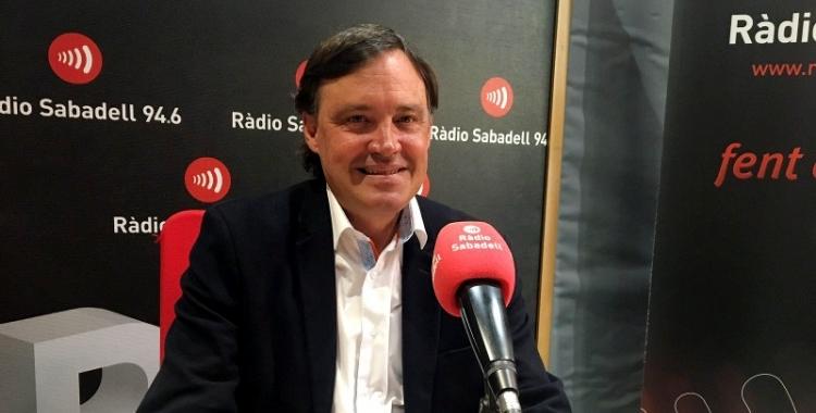 Esteban Gesa, en una imatge d'arxiu/ Ràdio Sabadell