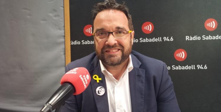 Juli Fernàndez, alcaldable d'ERC   Pau Duran