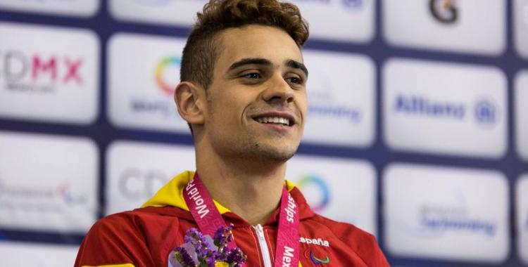 Oscar Salguero no surt com a favorit a l'Estatal de natació adaptada de Lloret