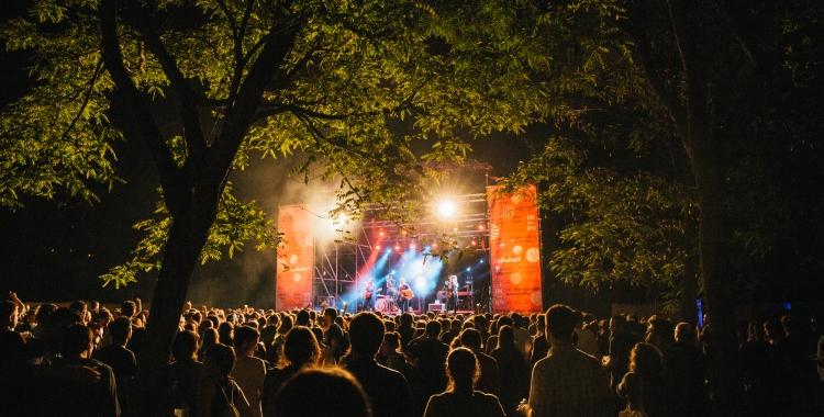 L'escenari gran del festival | EMBASSA'T Pol Solsona