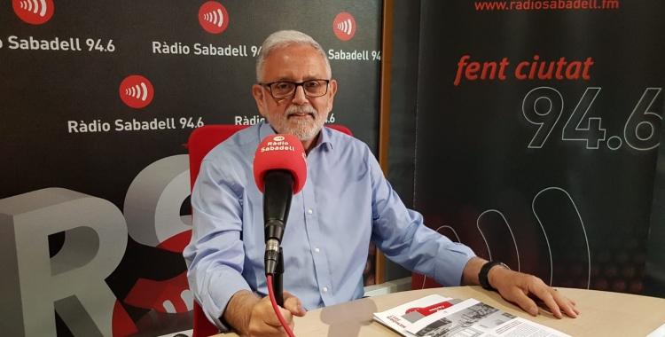 Salvador Obiols ha fet balanç de la situació de pobresa al programa 'Al Matí'/ Ràdio Sabadell