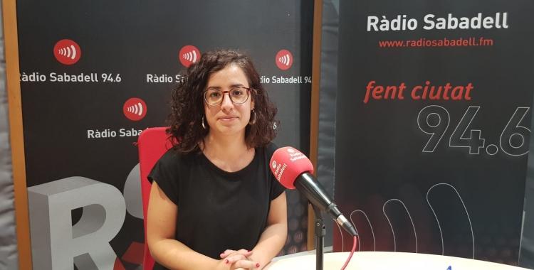 Bel Zaballa a Ràdio Sabadell | Raquel Garcia