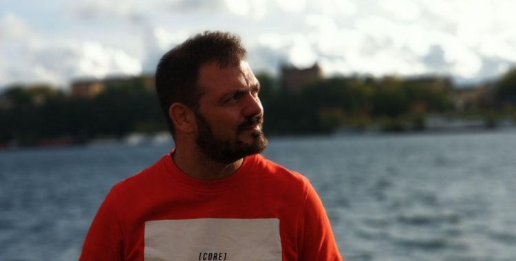 Enric Pineda, coordinador de Pirates de Catalunya | Cedida