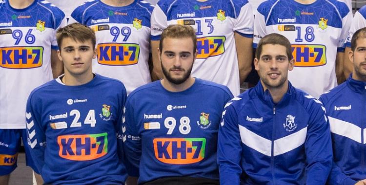 Enric González (dorsal 98) serà un dels porters del Gràcia la temporada que ve