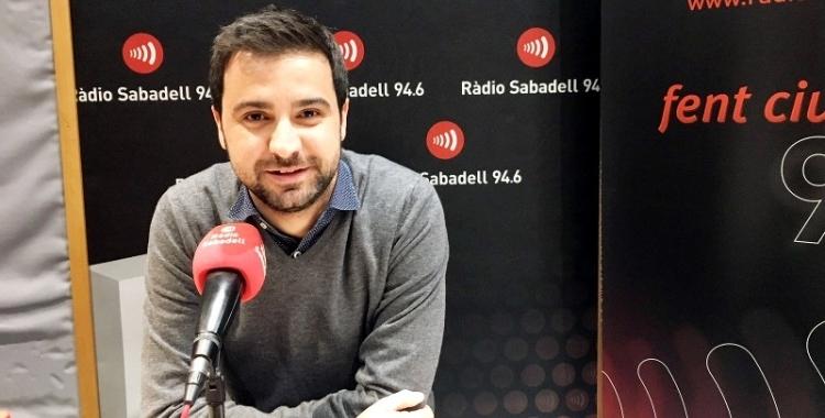 Gibert ha mostrat a les xarxes el seu suport a Berlanga/ Arxiu Ràdio Sabadell