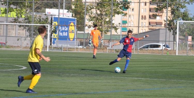 El Mercantil va empatar a 0 contra el Castelldefels | CE Mercantil
