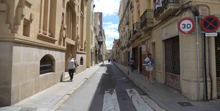 El carrer Sant Pere actualment | Roger Benet
