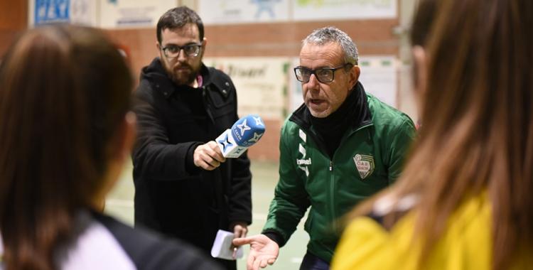 Xavi Font, en una imatge d'un partit de la temporada passada | Roger Benet