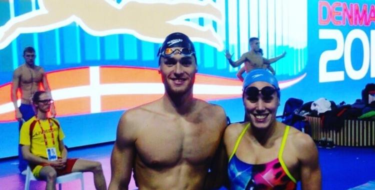Marc Sánchez i Marina García busquen la medalla a l'Europeu de Glasgow | Arxiu RS