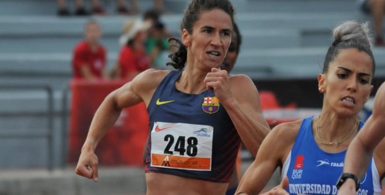 Mas ha acabat més que satisfeta la temporada | Miquel Merino - Atletisme Català