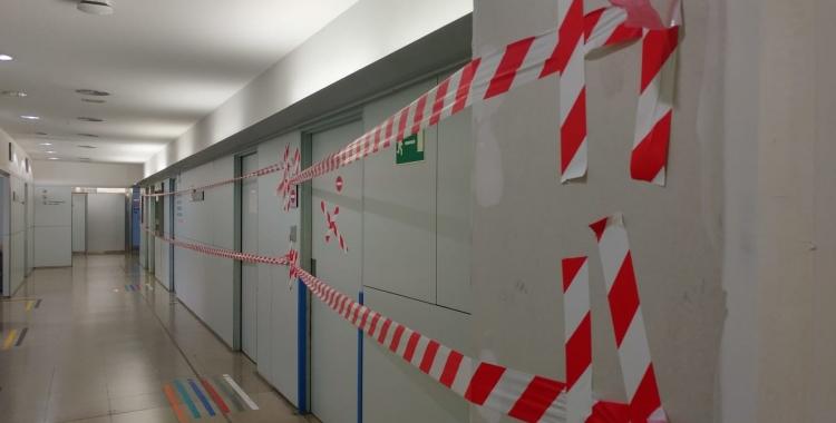 Estat de les obres a l'Hospital de Sabadell | Pere Gallifa