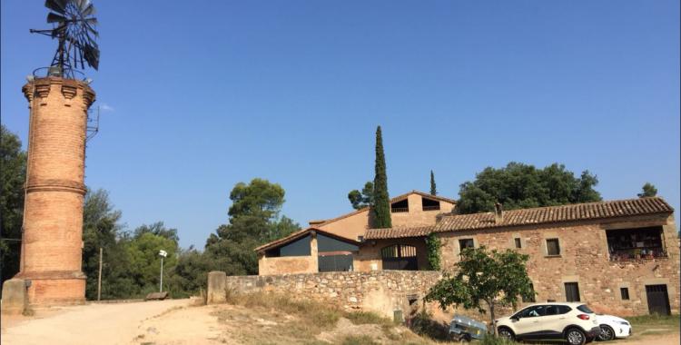La granja de cargols, situada al barri de Can Deu | Aleix Graell