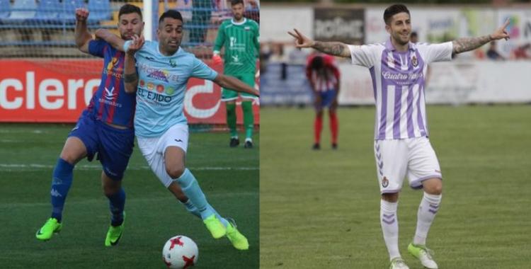 Delmonte (esquerra) i Domínguez (dreta) han estat els últims en arribar | Hoy / El Desmarque
