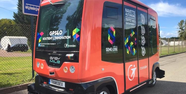 L'autobús autònom, l'Èrica | AMTU (Associació de municipis per la mobilitat i el transport urbà)