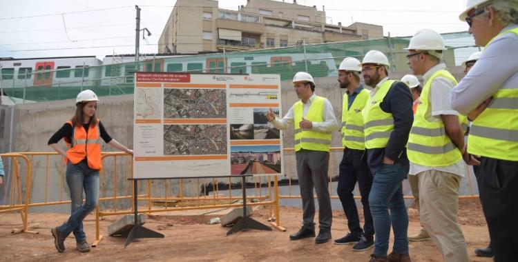 Primers passos per urbanitzar el passeig nascut del soterrament | Roger Benet