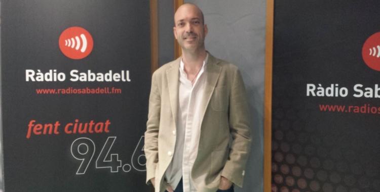 Josué Molina a Ràdio Sabadell | Raquel Garcia
