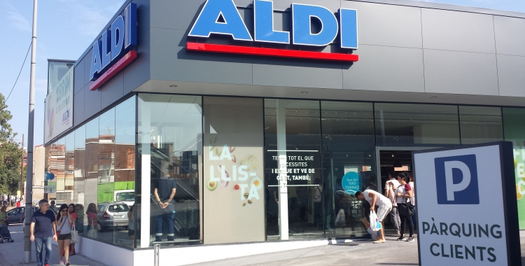 nou establiment ALDI a la carretera de Barcelona, 403 | Pau Duran