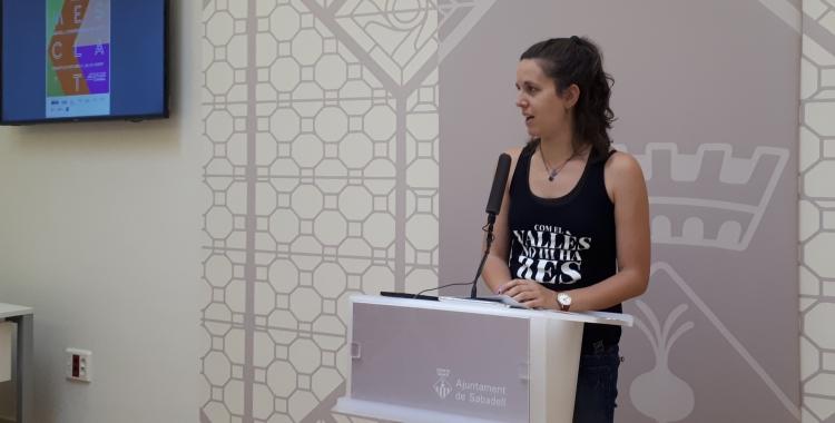 Míriam Ferrándiz ha presentat avui el programa del Mescla't/ Karen Madrid