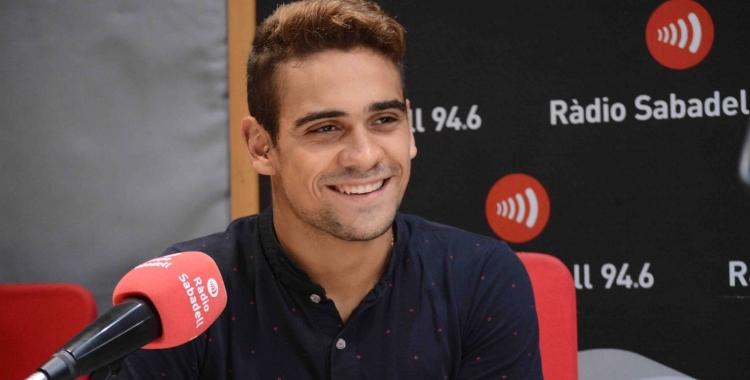 Óscar Salguero ha estat el primer convidat de la temporada al programa Hotel Suís | Roger Benet