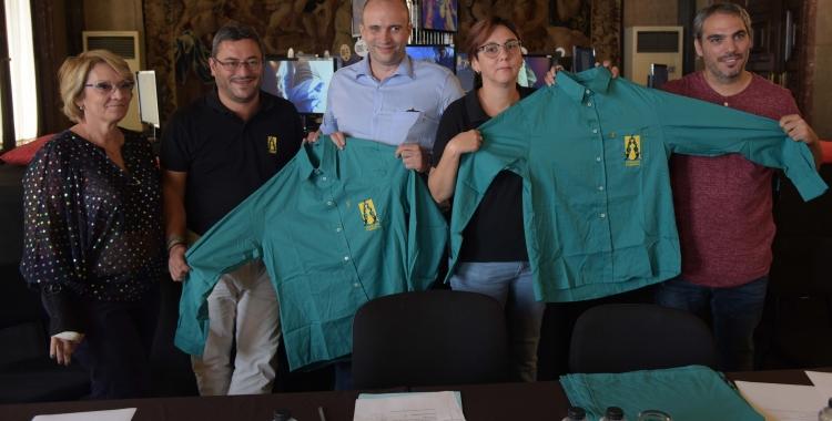 Presentació de les noves camises dels Saballuts | Roger Benet