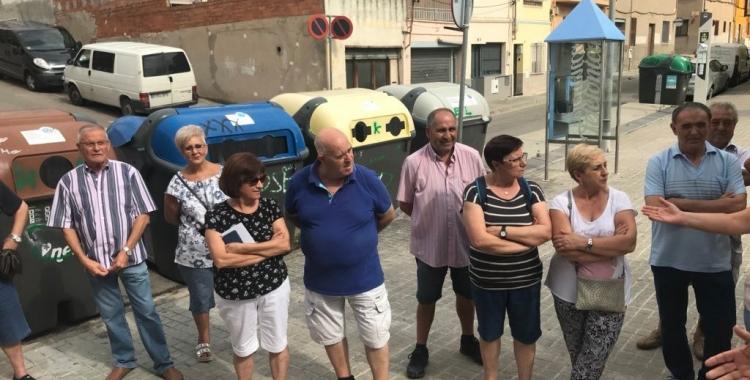 Veïns i veïnes afectades | Cedida