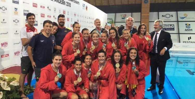 Espanya es va penjar l'or després de superar Rússia a la final (8-12)   RFEN