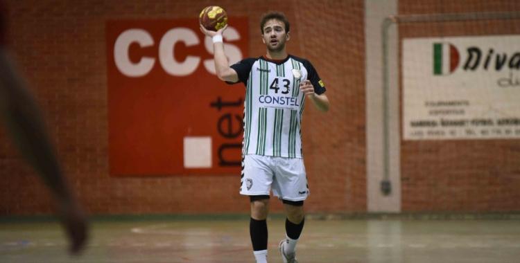 Bernat Correro al partit de la temporada passada davant el Sant Cugat | Roger Benet