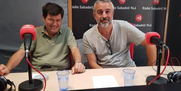 Lluís Mas (esquerra) cap de projectes de la Fundació Bofill | Raquel García
