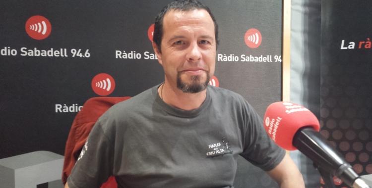 Tomsy als estudis de Ràdio Sabadell | Pau Duran