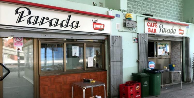 Imatge del bar Parada de Can Deu, on van passar els fets