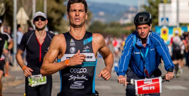 Blanchart va pujar al podi de l'Ironman de Barcelona | Joan Dols