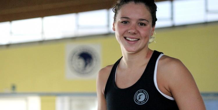 Catalina Corró ha passat en un any de patir un tumor al cap a competir a nivell internacional | Pau Vituri