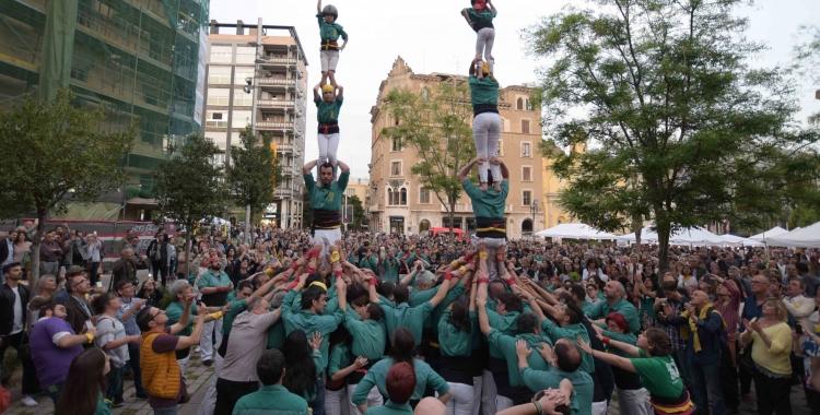 Els Saballuts durant la diada de Sant Jordi | Roger Benet