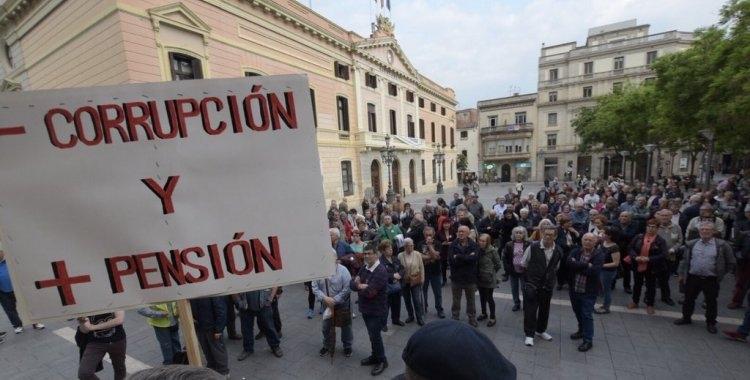 Manifestació de pensionistes | Roger Benet