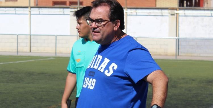 """Quico Díaz parla de La Jonquera com """"un rival de la lliga del Sabadell Nord""""   Adrián Arroyo"""