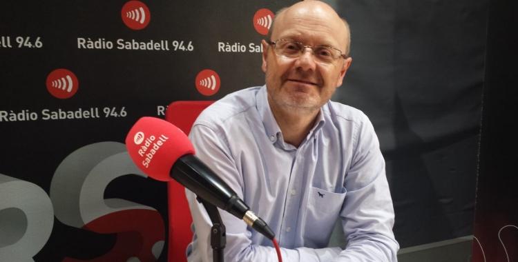 El Doctor Joan Carles Ferreres a l'estudi de Ràdio Sabadell   Pau Duran