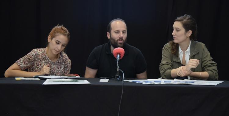 D'esquerra a dreta, Alba Collado, Albert González i Mireia Vila | Roger Benet