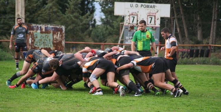 El Sabadel Rugby Club no va poder guanyar en la seva visita a Osca | Josep Figueres