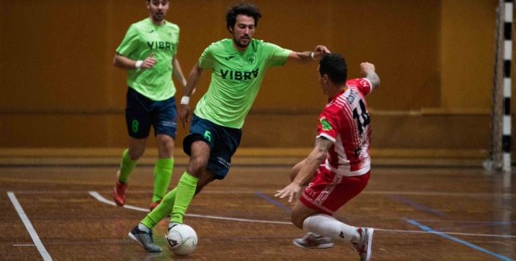 Pepe Font, un dels jugadors més destacats del Futsal Pia | Roger Benet