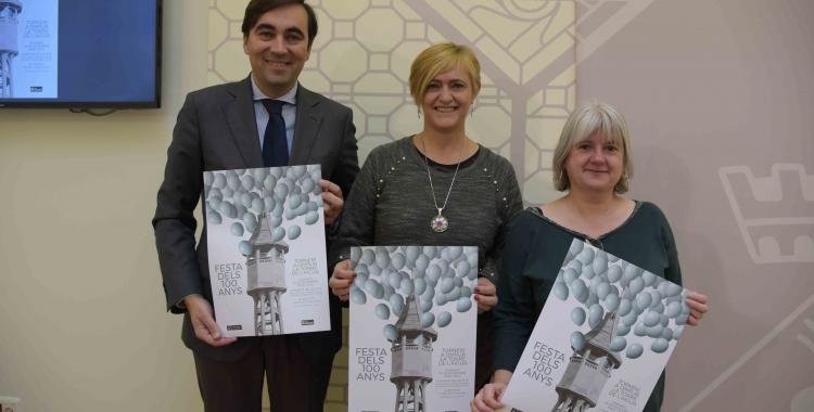 L'Ajuntament ha presentat avui el programa d'actes commemoratius del centenari de la Torre de l'Aigua/ Roger Benet