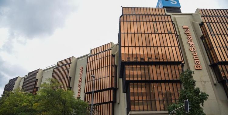 Seu central del Banc Sabadell  Roger Benet