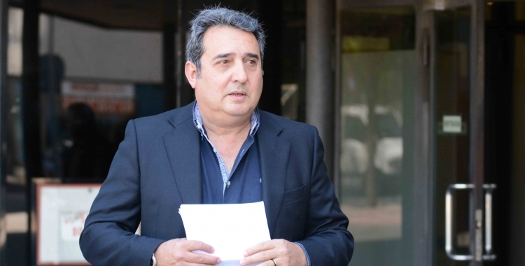 Manuel Bustos va passar pels Jutjats de Sabadell el mes de juny passat, en el judici sobre la retirada de multes/ Arxiu Ràdio Sabadell